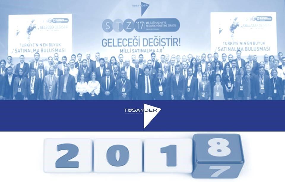 """TÜSAYDER 2018 Yılı Mesajı """"Şirketlerin Gelecek Sigortası : SATINALMA"""""""