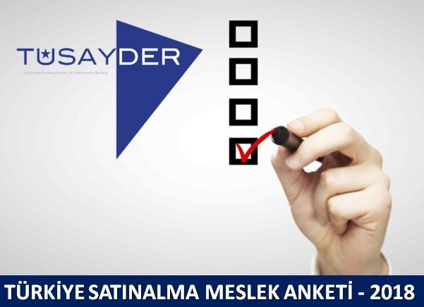 Türkiye Satınalma Meslek Anketi 2018 Sonuçları