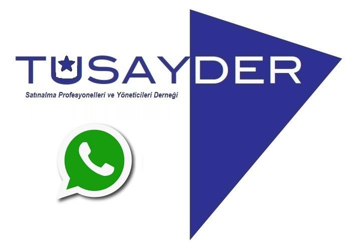 TÜSAYDER Bölgesel Whatsapp Grupları